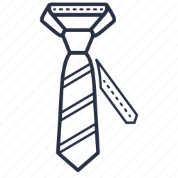 accessories, business, clothes, fashion, tie icon