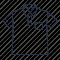 clothes, fashion, men, tshirt icon