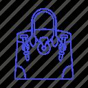accessory, bags, clothes, designer, handbag, purple, purse, small, violet icon