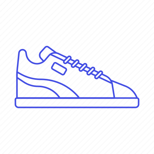 accessory, black, clothes, dark, footwear, gray, shoes, sneakers icon
