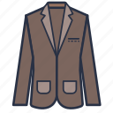 blazer, carporate, clothes, fashion, garments, men icon