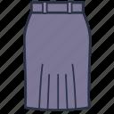 carporate, clothes, fashion, garments, skirt, women