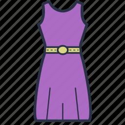 clothes, dress, fashion, garments, party, women icon