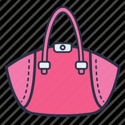 accessories, fashion, garments, money, purse, women icon