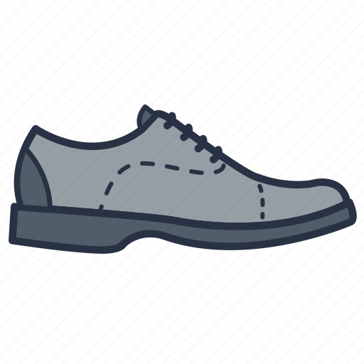 clothes, fashion, footwear, garments, men, shoes icon