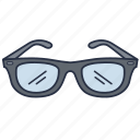 accessories, clothes, eyecare, fashion, garments, opticals, sunglass icon