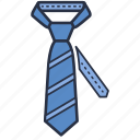 accessories, clothes, fashion, garments, man, tie icon