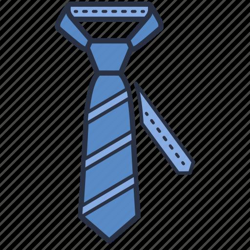 accessories, clothes, fashion, garments, man, tie icon