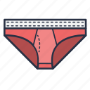 clothes, fashion, garments, man, undergarments, underwear icon