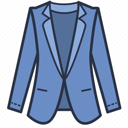 blazer, carporate, clothes, fashion, garments, women icon