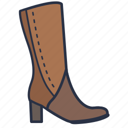boot, fashion, footwear, garments, shoes, women icon