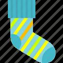 footwear, socks, stocking icon
