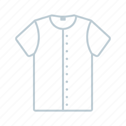 bomber, clothes, men, outline, shirt, summer, tshirt icon