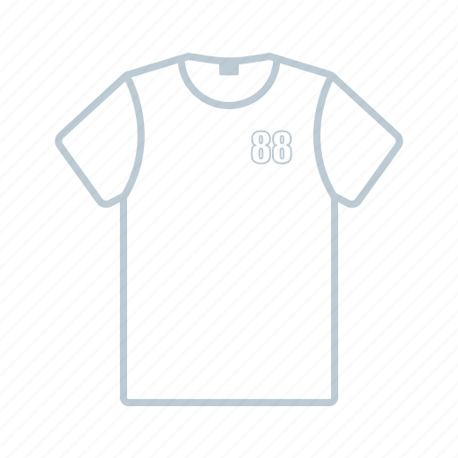 clothes, summer, t-shirt icon