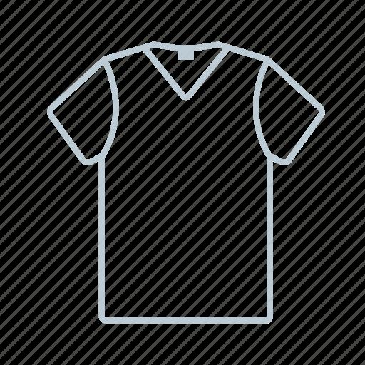 -shirt, clothes, men, outline, shirt, summer, tshirt icon icon