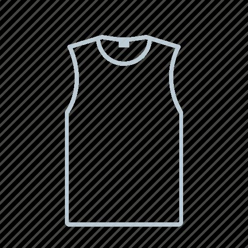 men, outline, shirt, summer, t-shirt, top, tshirt icon icon