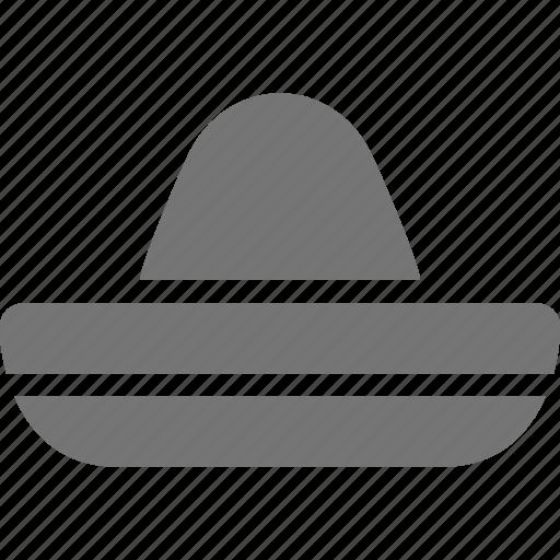 hat, sombrero icon