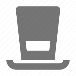hat, top hat icon