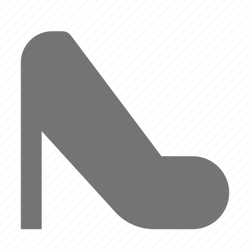 heel, high heel, shoe, shoes icon