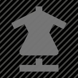 dress, dressform, mannequin icon