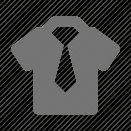 necktie, shirt, tie, top icon