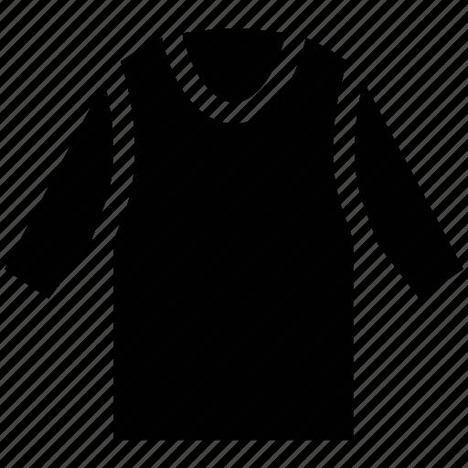 crew neck, scoop neck, shirt, t-shirt icon