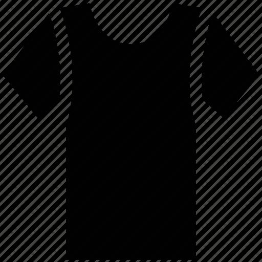 crew neck, plain, scoop neck, shirt, t-shirt icon