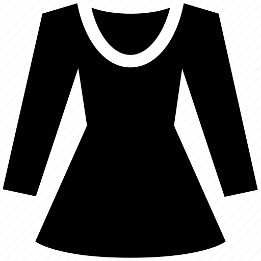 blouse, clothing, full sleeves, ladies, shirt, tunic icon