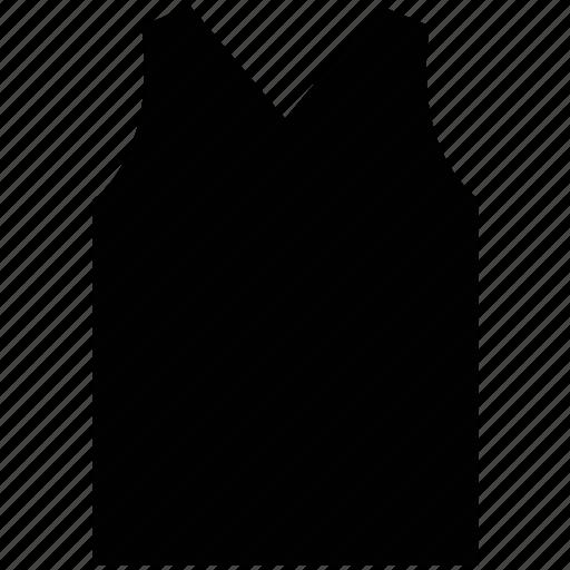 acrylic, men's, v-neck, vest icon