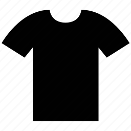 crew neck, round neck, scoop neck, shirt, tee icon
