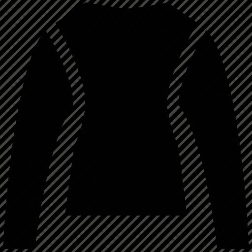 crew neck, down shirt, jersey, knitted, neckline, sweatshirt icon