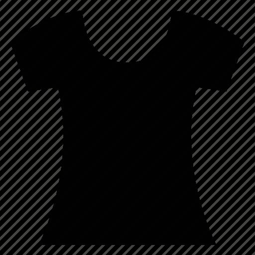 baggy, plain, round neck, shirt, tee icon
