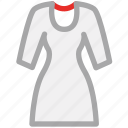 blouse, shirt, tunic, women icon