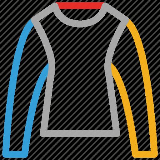 shirt, sweater, sweatshirt, winter icon
