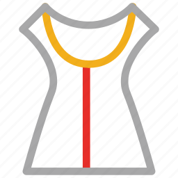 bodice, house dress, up, women's icon