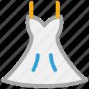dress, halter, wedding, women's