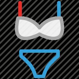 bikini, sexy, underwear, women's icon