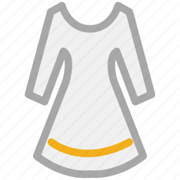blouse, shirt, tunic, women's icon
