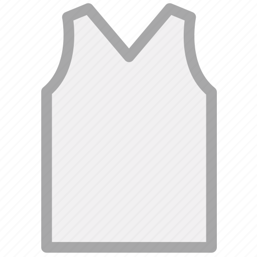 casual, male, reflective, v-neck, vest icon