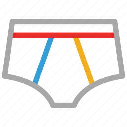 underclothes, undergarment, underpant, underwear icon