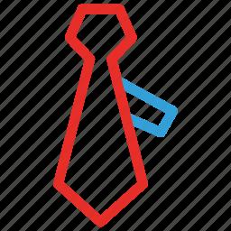 businessman, man, necktie, tie icon