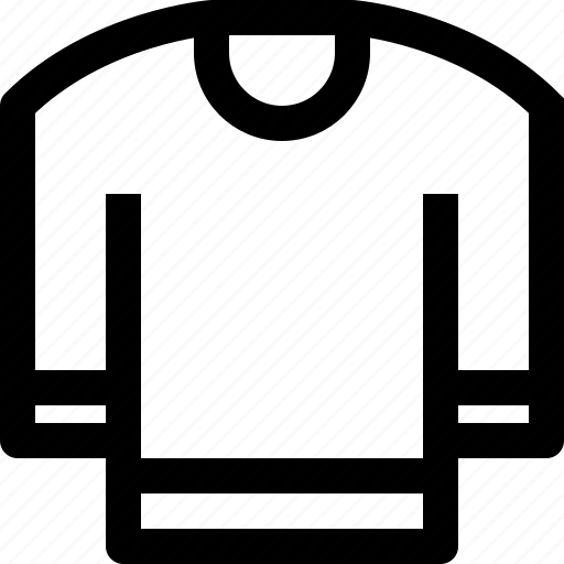 apparel, cloth, clothes, clothing, fashion, sweater icon