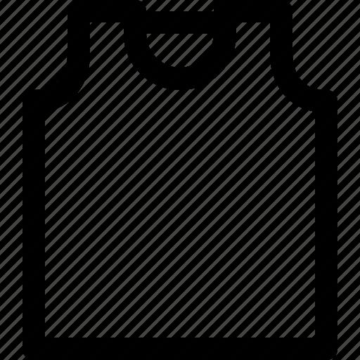 apparel, cloth, clothes, clothing, fashion, sleeveless icon