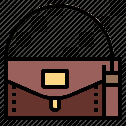 accessory, elegant, fashion, female, handbag icon