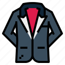 formal, luxury, suit, tuxedo, vip icon