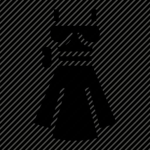 Dress, elegant, fashion, garment, skirt icon - Download on Iconfinder