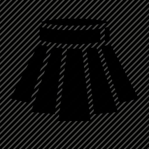 Clothes, fashion, female, mini, skirt icon - Download on Iconfinder