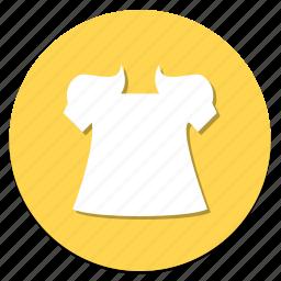 circular, cloth, clothing, dress, girl, wear, woman icon