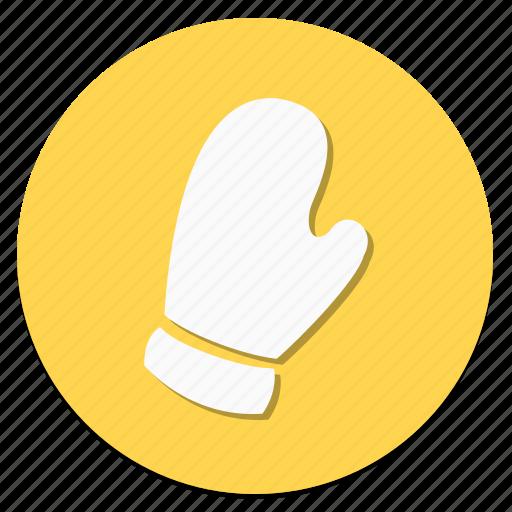 circular, cloth, clothes, clothing, fashion, glove, wear icon