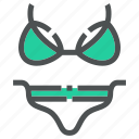 apparel, clothing, fashion, lingerie, swimwear, washing, wear